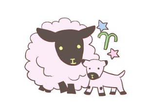 牡羊座イラスト