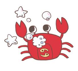 蟹座イラスト