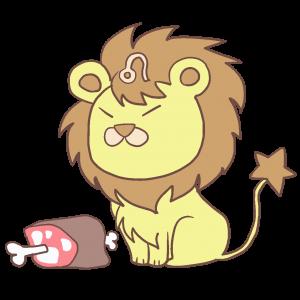 獅子座イラスト