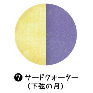 7_サードクォーター(下弦の月)
