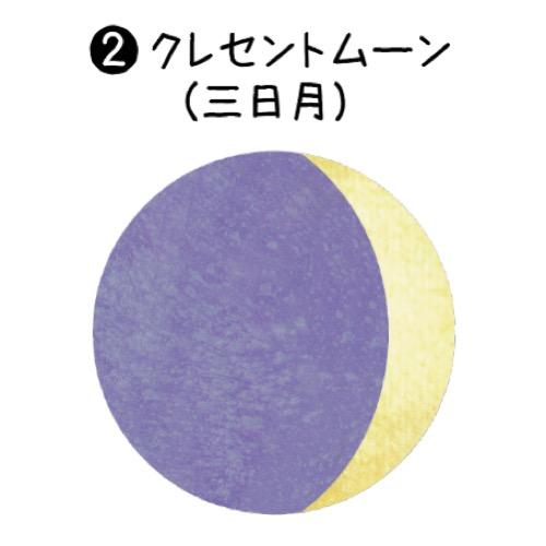 2_クレセントムーン(三日月)