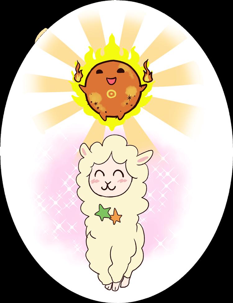 イラスト_なこと太陽