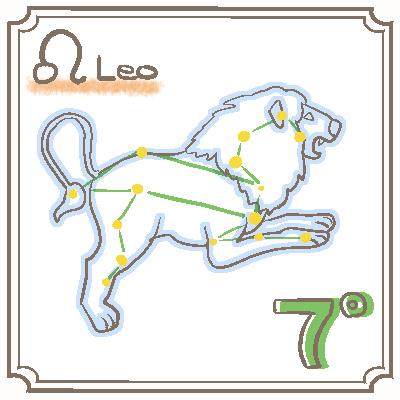 サビアンシンボル獅子座_007