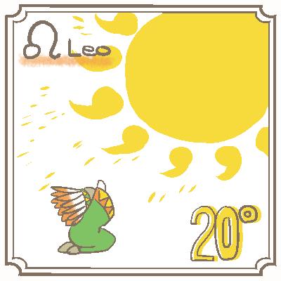 サビアンシンボル獅子座_020
