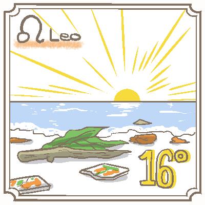 サビアンシンボル獅子座_016