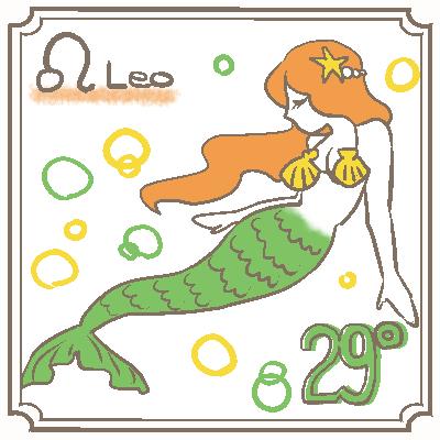サビアンシンボル獅子座_029