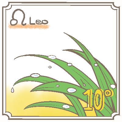 サビアンシンボル獅子座_010